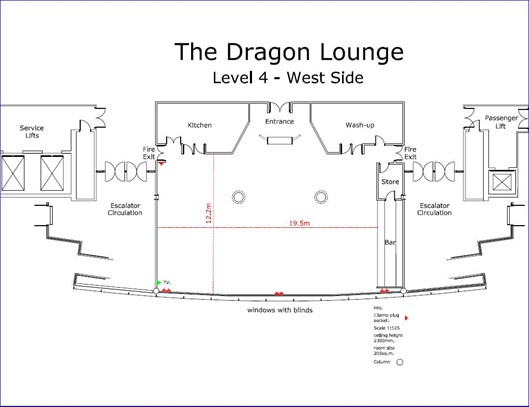 Dragon Lounge Plan