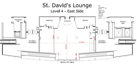 St Davids Lounge Plan